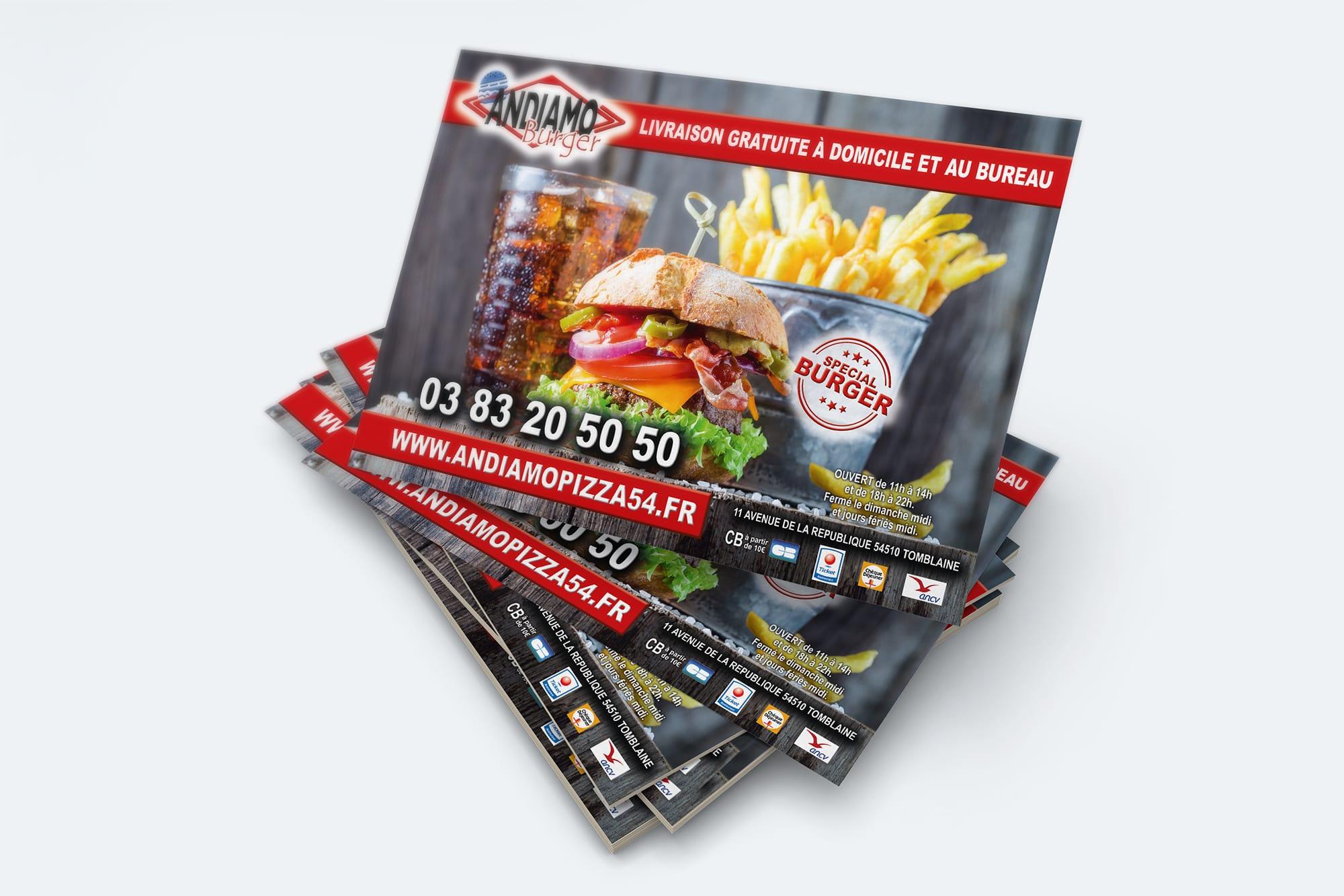 Andiamo burger sbcom steven berg