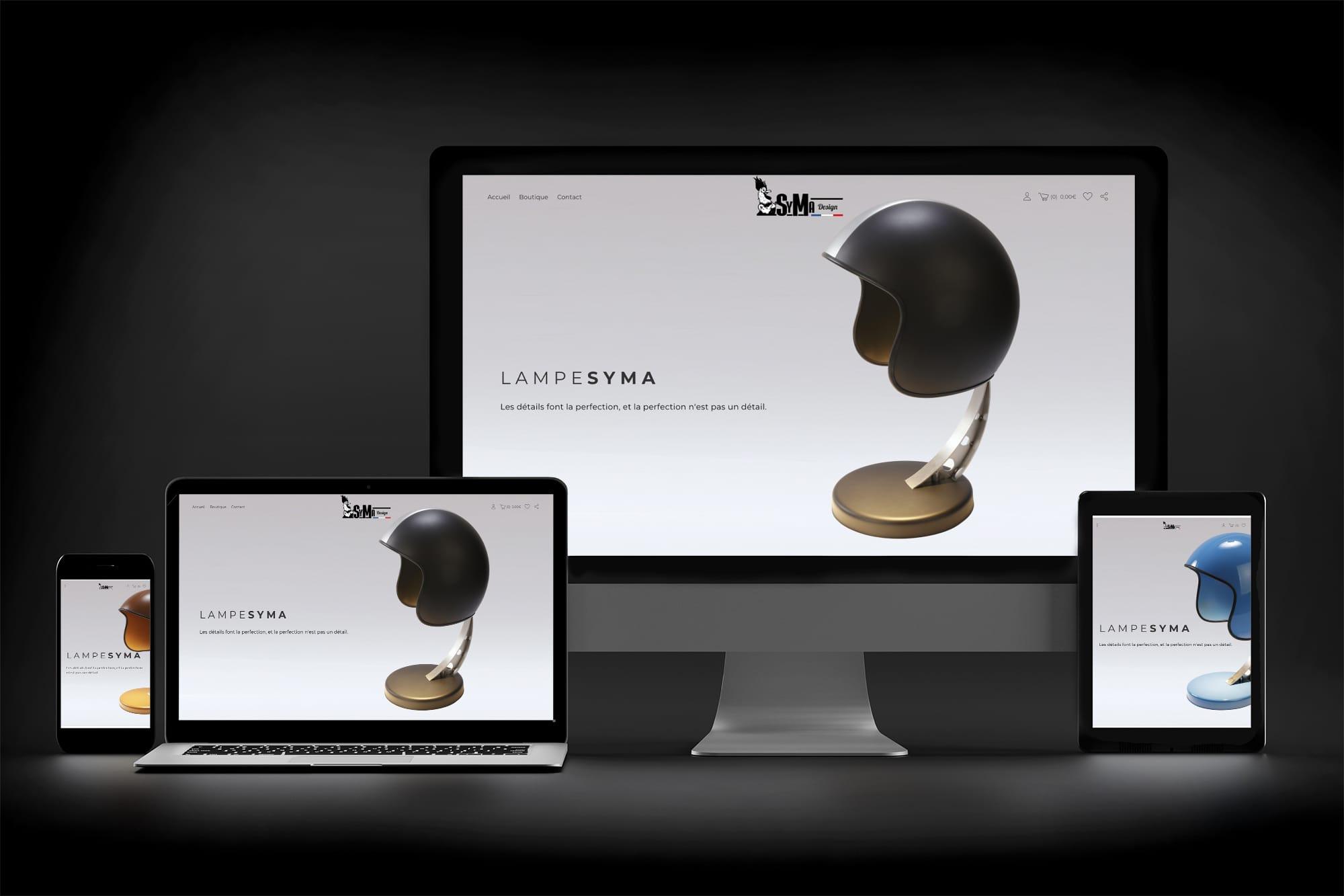 site internet SyMa Design sbcom steven berg
